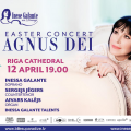 Easter concert Agnus Dei by Inese Galante & friends.